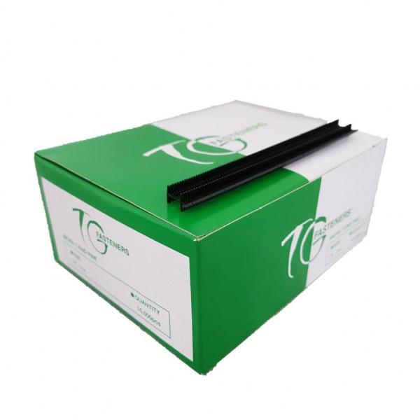 T-End Fäden, preiswert, Nylon, schwarz, fein, 7 mm