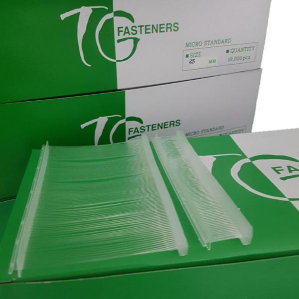 Heftfäden preiswert, standard 15, 20, 25,40,50 und 65 mm