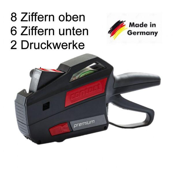 Preisauszeichner Contact 8+6-stellige Druckwerke 2-zeilig-Copy