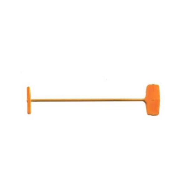 orange Heftfäden, lebensmitteltauglich, 40 mm