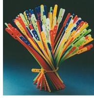 Schnellbinder / Blitzbinder, farbig, Länge 360 mm