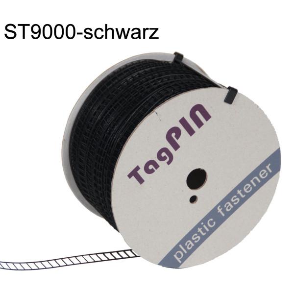 Preiswerte Plastikklammern für ST 9000 15 mm Nylon - farblos+schwarz