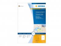 Herma Etiketten, Polyesterfolie, transparent, 100 Blatt