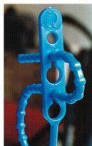 Schnellbinder / Blitzbinder, farbig, Länge 140 mm