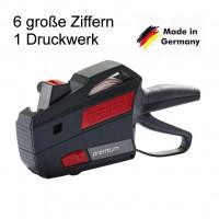 Preisauszeichner Contact 6-stellig Druckwerk 1-zeilig