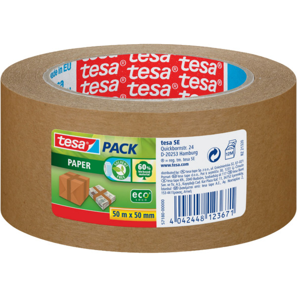 Verpackungsklebeband-Tesa-Pack-50mmx50m-braun-nachhalting-Eco-Pack