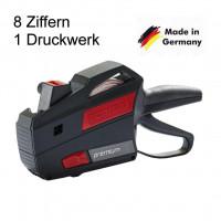 Preisauszeichner Contact 8-stellig Druckwerk 1-zeili