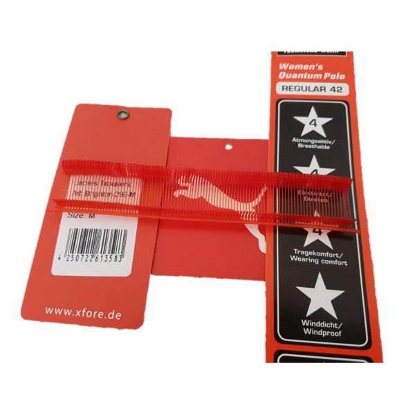 Feine Heftfäden-Sonderfarben rot 15,20,25,35 mm