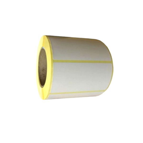 Thermoetiketten, 75mm x 50mm, weiss, permanent