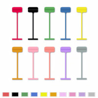 Heftfäden Avery Dennison, farbig auf Anfrage