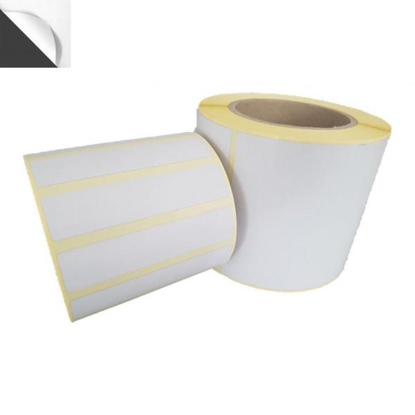 Papieretiketten, 60mm x 40mm, blickdicht, permanent