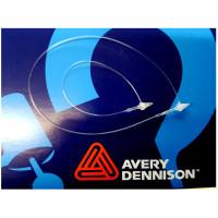 Sicherheitsfäden, Avery, PP, 125 + 225 mm farblos