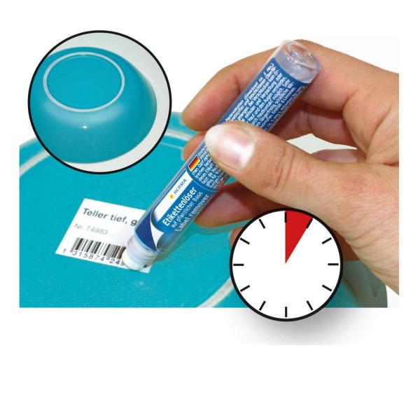 Etikettenlöser auf pflanzlicher Basis, Stift, 15 ml - Herma