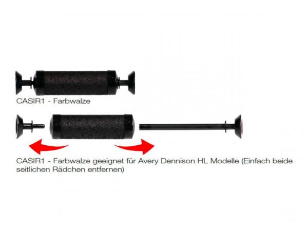 Farbrolle für Preisauszeichner Avery CAS+HL Modelle+Prix neue Geräte