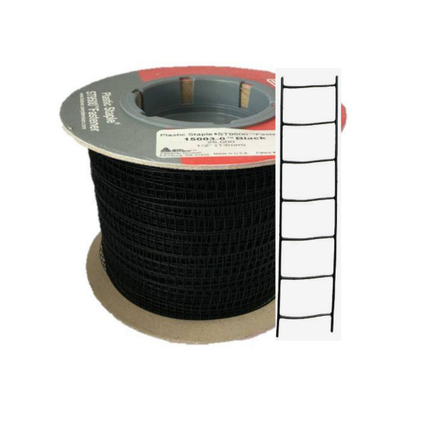 schwarze Plastikklammern 13 mm für ST9500