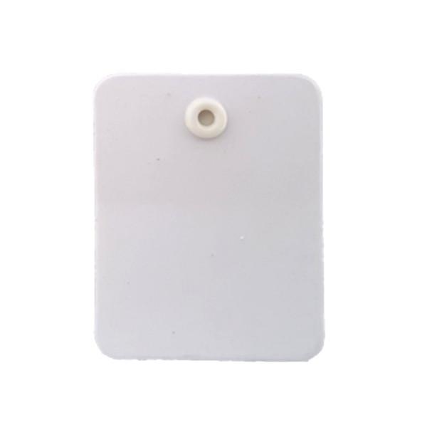Kartonetiketten 40 mm x 50 mm, unbedruckt mit Oese