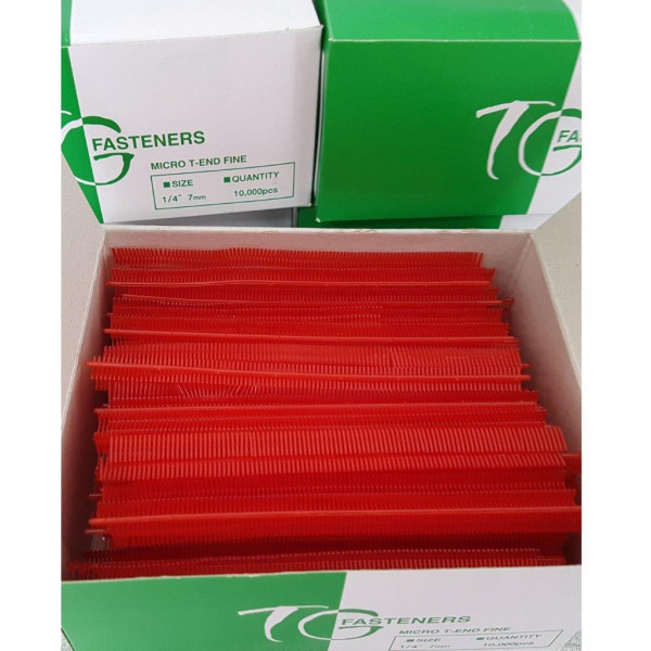 T-End Fäden, preiswert, Nylon, farbig, fein, 7 mm
