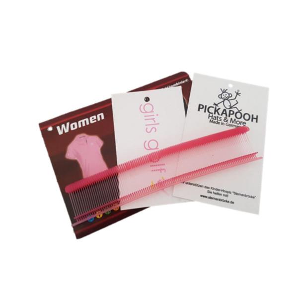 Feine Heftfäden-Sonderfarben-rosa/pink - 15,20,25,35 mm