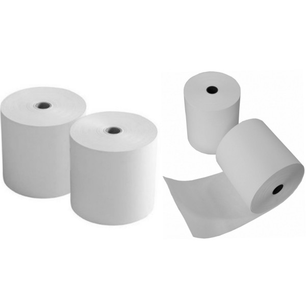 Papierrollen/Kassenrollen 76mmx50mx12mm
