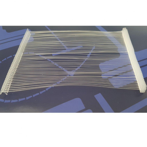 Lange Heftfäden 125 mm Nylon Avery Dennison, standard