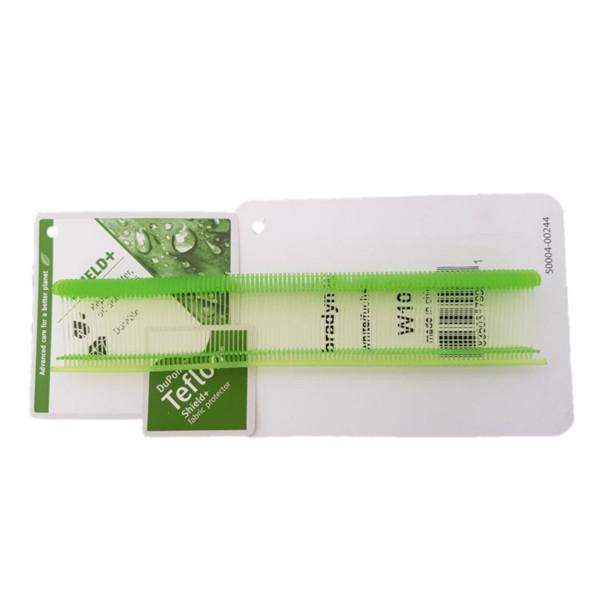 Feine Heftfäden-Sonderfarben hellgrün 15,20,25,35 mm